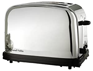 Russell hobbs 13766 56 grille pain r tro 2 fentes 1100 w for Russell hobbs grille pain radio