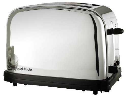 Russell Hobbs 13766-56 Grille-Pain Rétro 2 Fentes 1100 W Inox