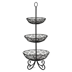 the seasoning products sale 3 tier fruit basket stand. Black Bedroom Furniture Sets. Home Design Ideas
