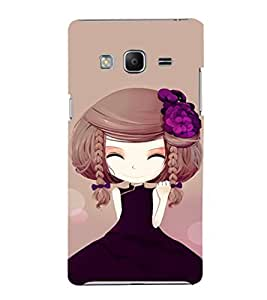EPICCASE Chinese Cuttie Mobile Back Case Cover For Samsung Tizen Z3 (Designer Case)