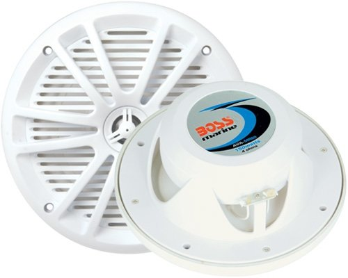 "BOSS AUDIO MR650 Marine  6.5"" 2-way 250-watt Full Range Speakers"