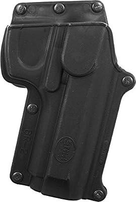 Fobus Standard Holster RH Belt BR2BH Beretta 92/96 (Except Brig & Elite) / Taurus 92/99/101 / CZ75B 9mm (With Rails See BRV Evo Holster)