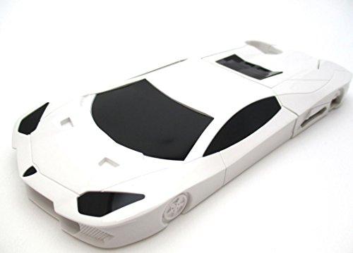 iPhone 6 s ケース 4.7 インチ ランボルギーニ アヴェンタドール Lamborghini カバー ホワイト 白