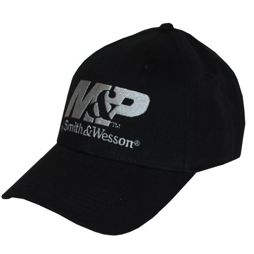 M&P by Smith & Wesson Men's Logo Cap in Black
