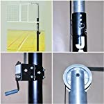 Jaypro PVB-5000 Featherlite Collegiate Volleyball Net Systems (Call 1-800-234-2775 to order)