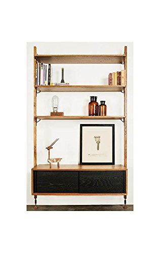 Theo Modular Shelving in Black Finish (Shelving Modular compare prices)
