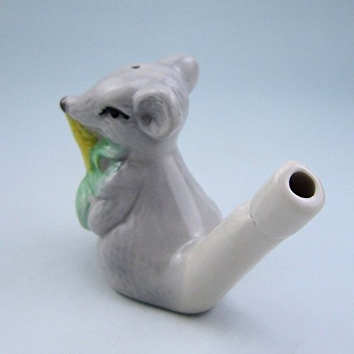 Sangdo CERAMIC BIRD WHISTLE RAT Vintage Style Water Warbler (Rat Whistle compare prices)