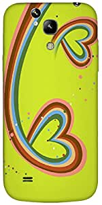 Timpax protective Armor Hard Bumper Back Case Cover. Multicolor printed on 3 Dimensional case with latest & finest graphic design art. Compatible with Samsung I9190 Galaxy S4 mini Design No : TDZ-25033