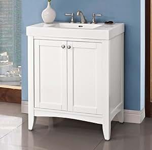 Fairmont designs 1512 v3018 shaker americana 30x18 vanity for Americana bathroom ideas