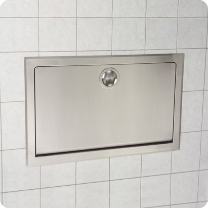 Koala Kare (Kb110-Ssre) - Stainless Steel Horizontal Recessed Baby Changing Station front-967405