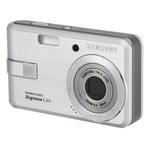 418B0GZ4CAL Samsung Digimax L60 6.0MP Digital Camera with 3x Optical Zoom (Silver)