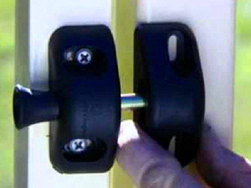 D Amp D Technologies Llaa V6201 Stanley Gate Lock Latch Black