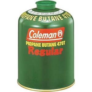 コールマン 純正LPガス燃料 Tタイプ 470g 5103A470T