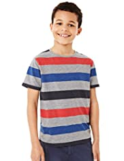 Block Striped T-Shirt