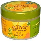 Alba Botanica: Natural Hawaiian Body Scrub Sea salt, 14.5 oz