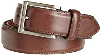 Tommy Hilfiger Men's Glove-Grain Dress Belt, Tan, 32