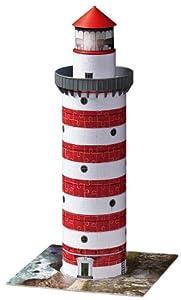 Ravensburger - 12555 - Puzzle 3D - Puzzleball  Building 216 Pièces - Phare