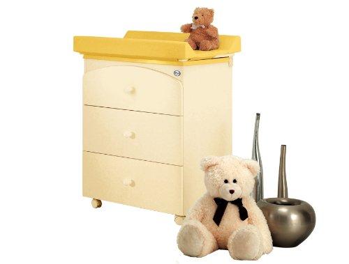 Pali Bade-Wickelstation Tris Magnolia – Baby Wickeltisch mit Aufsatz und Badewanne günstig kaufen