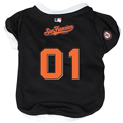 San Francisco Giants MLB Mesh Pet Jersey
