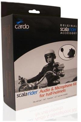 Scala Rider Audio And Microphone Kit For G9 Half Helmet Srak0020