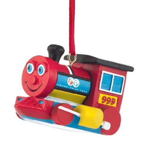 Department 56 Fisher Price Huffy Puffy Train Ornament, 1.75-Inch