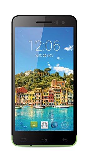 "Posh Mobile Titan Hd E500 - Ultra Slim, 5.0"" Hd Display, 4G Gsm Unlocked, Android 4.4 Kit Kat, Octa-Core, 13Mp Camera - 1 Year Usa Warranty - Green"