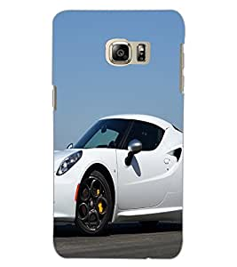 SAMSUNG GALAXY NOTE 5 EDGE CAR Back Cover by PRINTSWAG