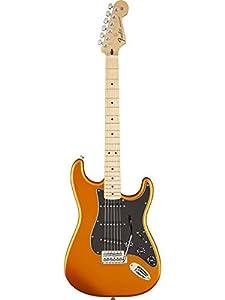Fender Standard Stratocaster Electric Guitar, Maple Fingerboard, Arizona Sun (Satin)
