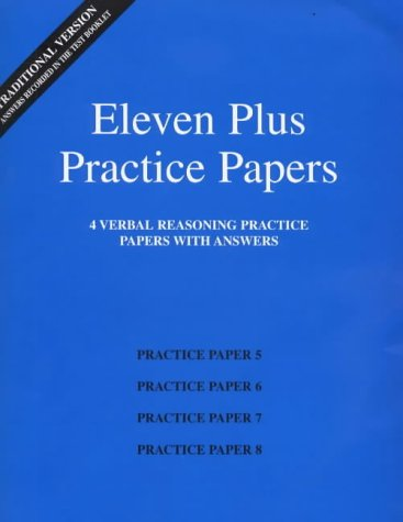 eleven-plus-practice-papers-5-to-8-traditional-format-verbal-reasoning-papers-with-answers