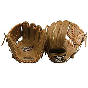 Mizuno GGE41 11 1/4 Inch Global Elite Baseball Glove Size 11.25 inch