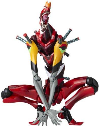 Evangelion: 2.0 : Revoltech 090 Nigoki EVA Unit 02 Advance