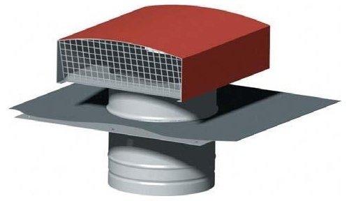 chapeau-de-toiture-metallique-ardoise-diametre-160-mm