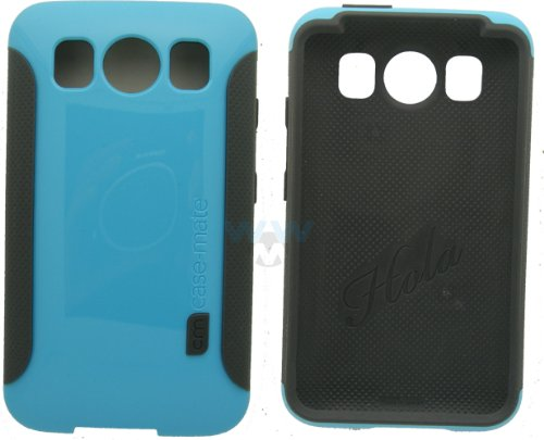Case - Mate CM013564 Pop Case for HTC Inspire 4G - 1 Pack - Retail Packaging - Blue/Cool Grey