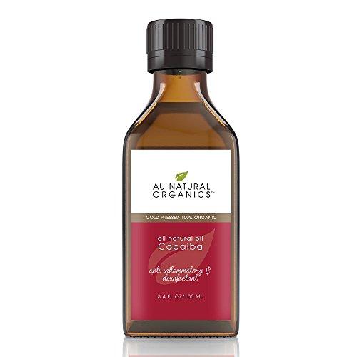 Au Natural Organics Copaiba Oil 3.4 Oz | 100 Ml