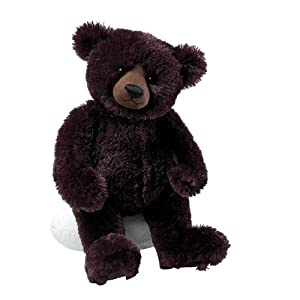"Gund Matisse Very Dark Brown 14"" Bear Plush from Gund"