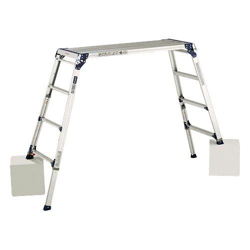 アルインコ 足場台 天板高さ1.01~1.31m 最大使用質量100kg PXGE1012F