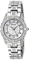 Bulova Womens 96L116 Stainless Steel and Mother-of-Pearl