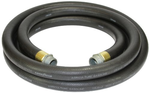 goodyear-1729100010-farm-fuel-1inch-by-10feet-transfer-hose-with-threaded-male-couplings-on-both-end