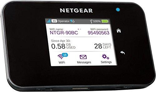 Netgear AC810-100EUS Router Mobile 4G LTE, 600 Mbps, Dual Band AC, Touchscreen,...