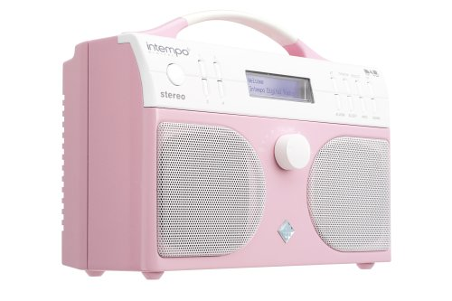 Intempo KT-01 DAB Digital Radio - Pink