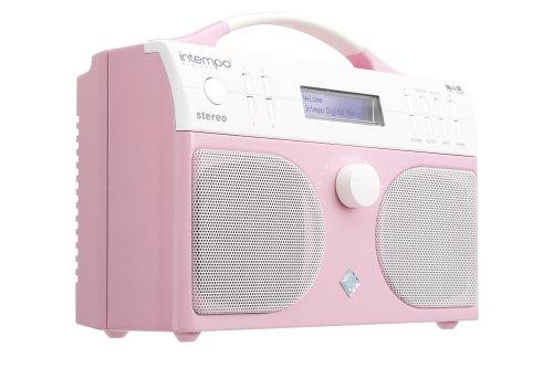 Intempo KT-01 DAB Digital Radio - Pink