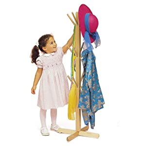 Whitney Brothers Maple Dress Up Tree With Pegs