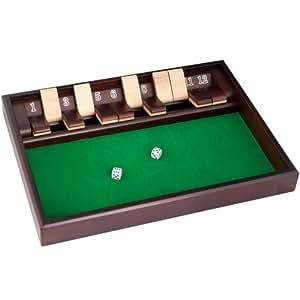 Trademark Poker Shut the Box Game, 12 Numbers