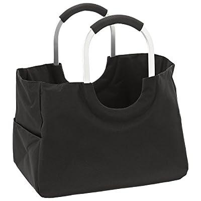 DAILYDREAM® Sac panier, sac de courses, panier de marché en noir, taille L
