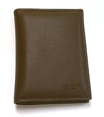 Tumi Meridian Saddle Brown L-Fold Bifold Wallet