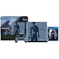Sony PlayStation 4 500GB Console with Uncharted 4 Limited Edition Bundle - OEM - Refurbished