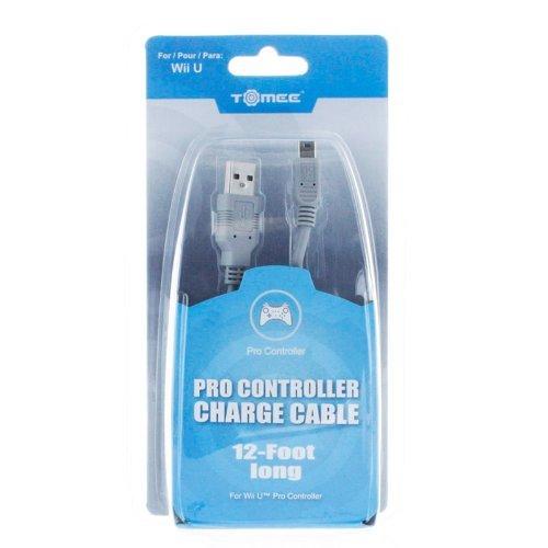 Awardpedia Wii U Tomee Pro Controller 12 Feet Charge Cable