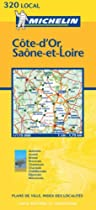 Cote-D'Or/Saone-et-Loire (Michelin Local Maps)