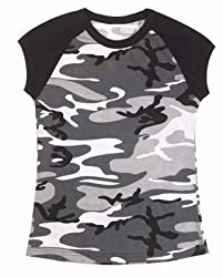 Womens Camouflage T-Shirts City Camo Tee