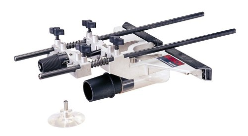 Bosch RA1054 Deluxe Router Edge Guide With Dust Extraction Hood & Vacuum Hose Adapter